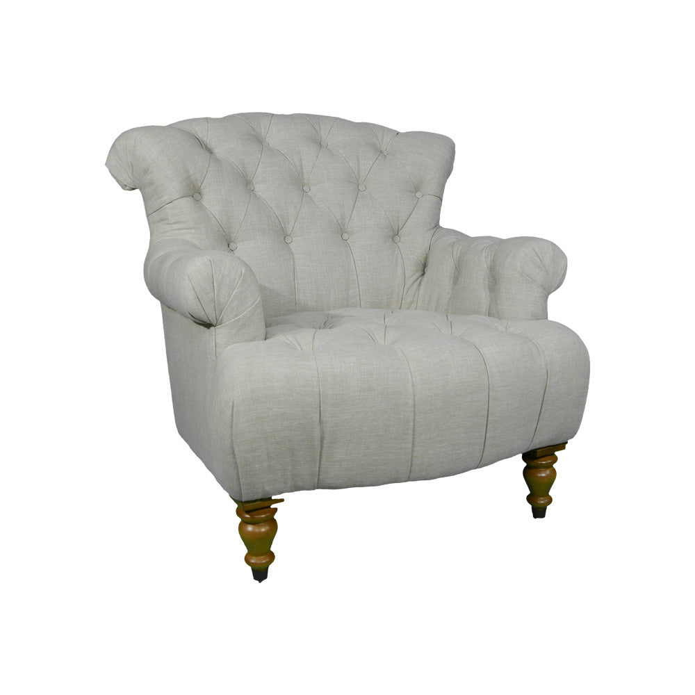 Northampton Linen Arm Chair