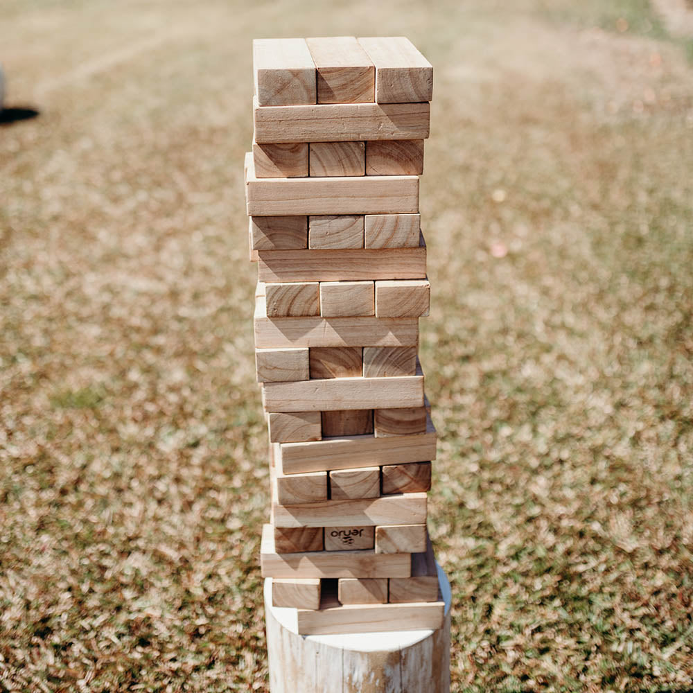 Giant Jenga (Yard Game)