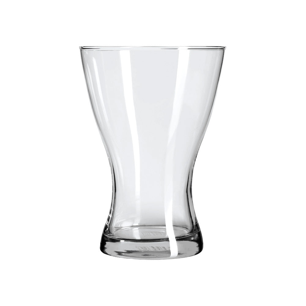 Large Wide-Top Vase-Candle Holder (clear)