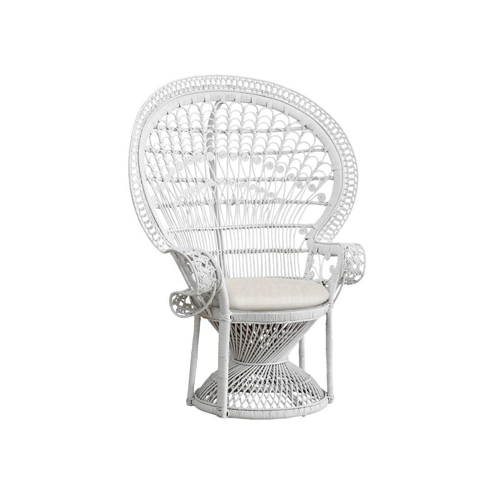 Peacock Chair (White)