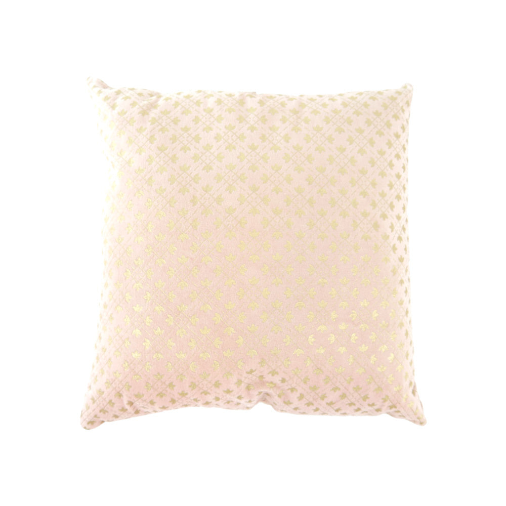Pink and Gold Chrome cushion