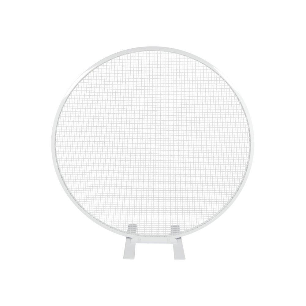 Round Mesh Backdrop (White)
