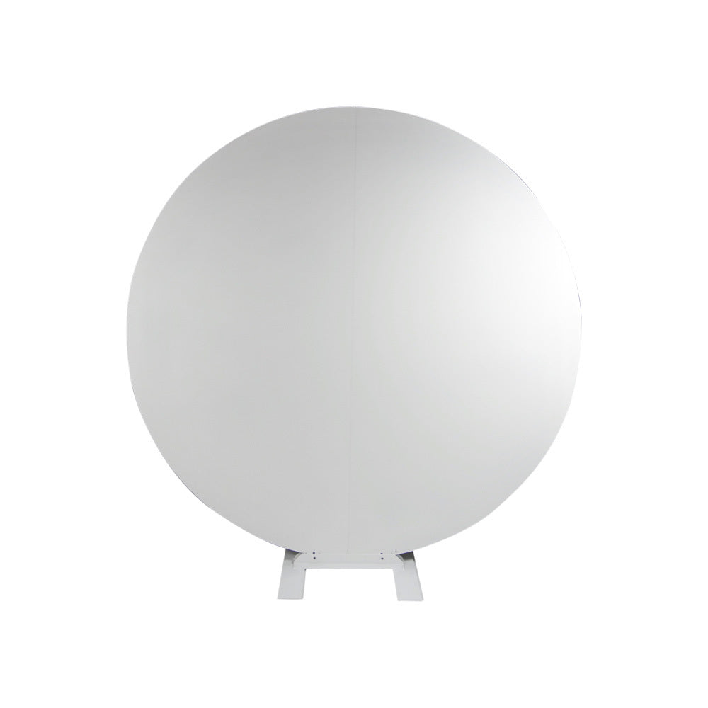Round Solid Backdrop (White)