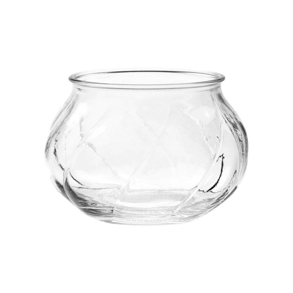 Small Decorative Vase-Candle Holder (clear)