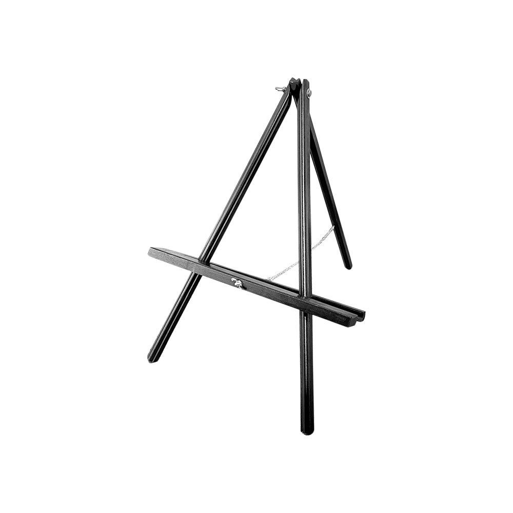 Small Tabletop Easel (Black Timber)