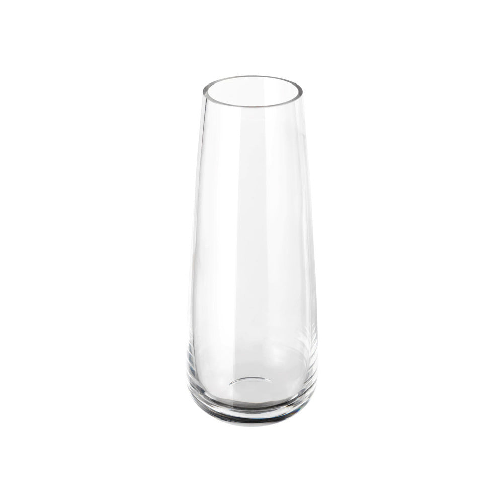 Tall Smooth Vase-Candle Holder (clear)