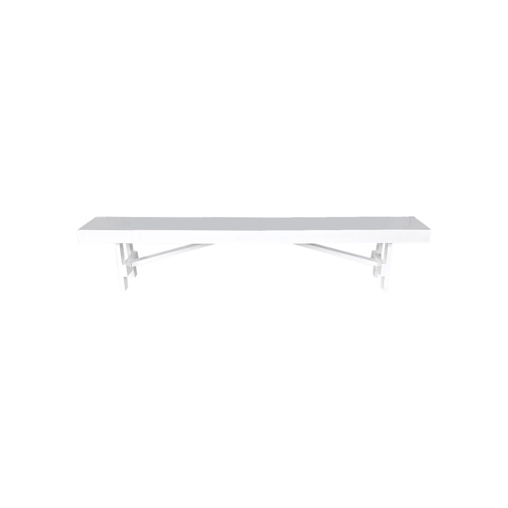 Timber Bench Seat (White)