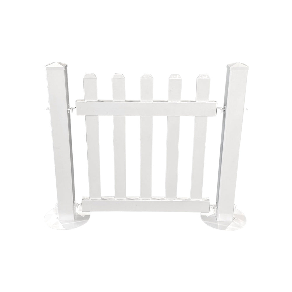 White Picket Fencing (1m Panel)