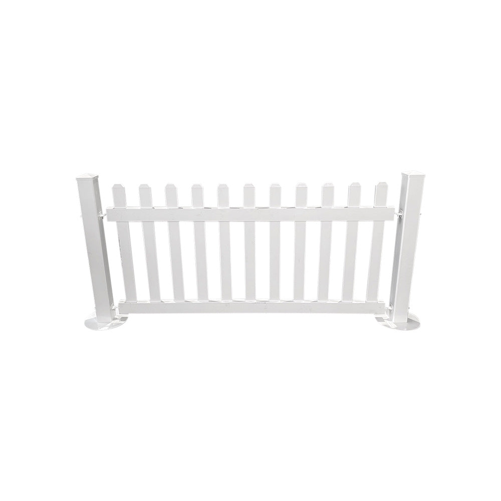 White Picket Fencing (2m Panel)