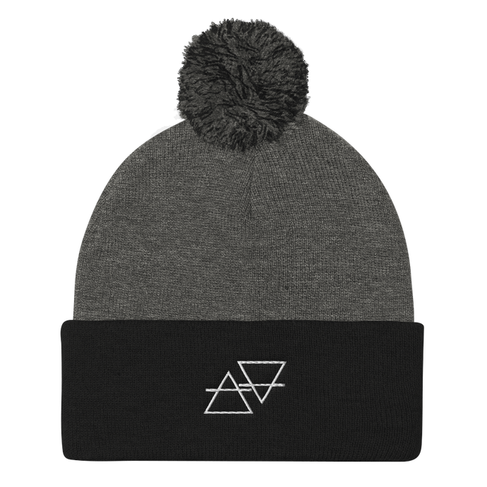 Air//Earth Pom Beanie