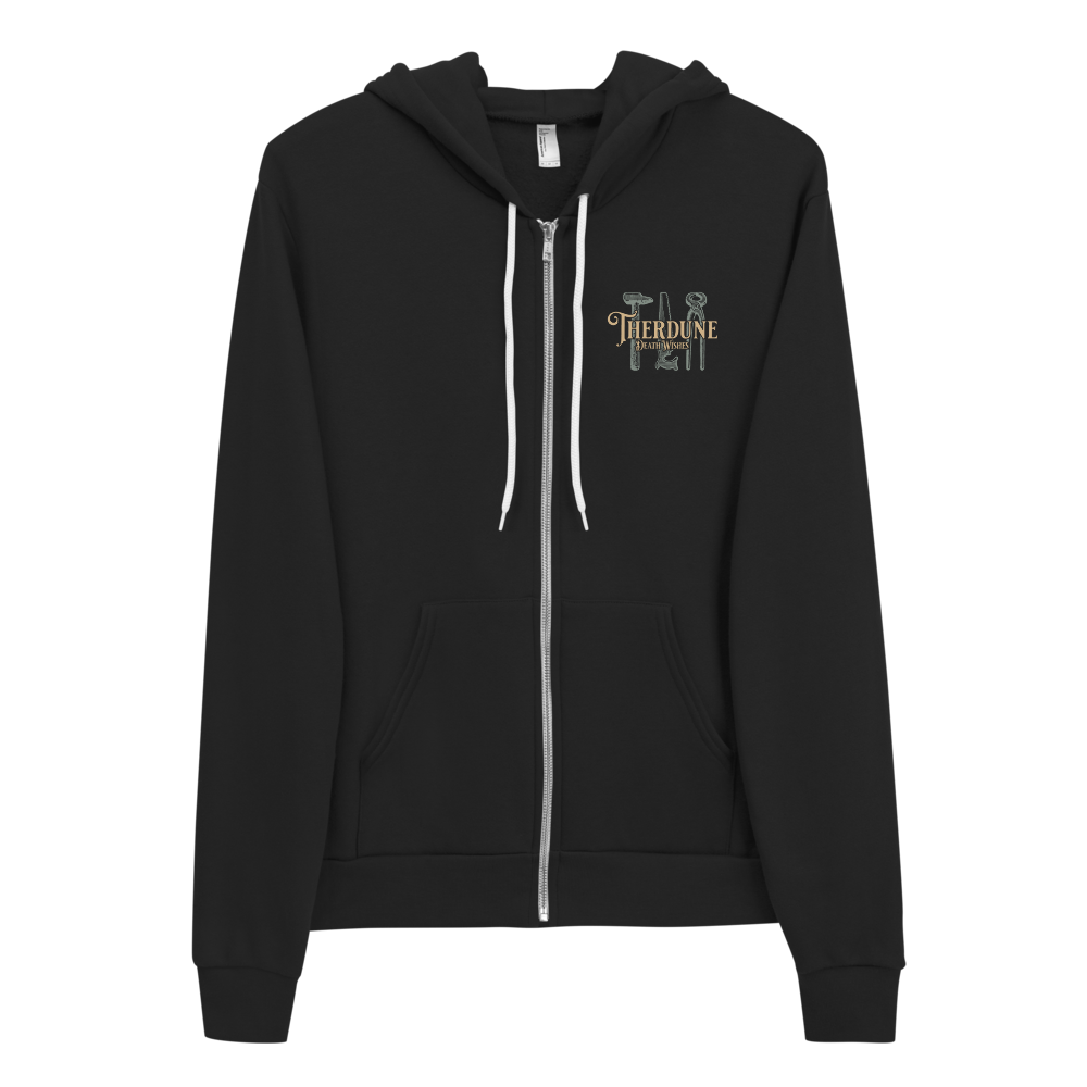 Death Wishes - Zip Up Hoodie