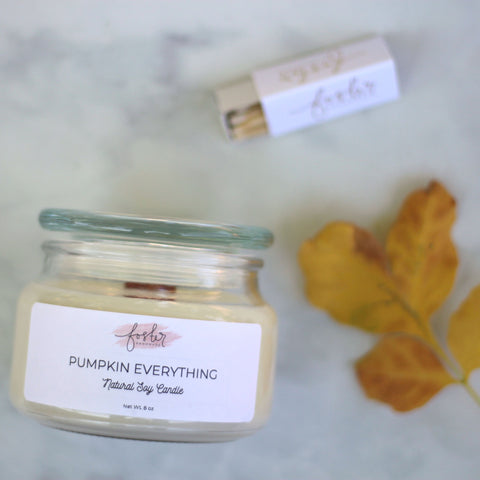 Pumpkin Everything Soy Candle