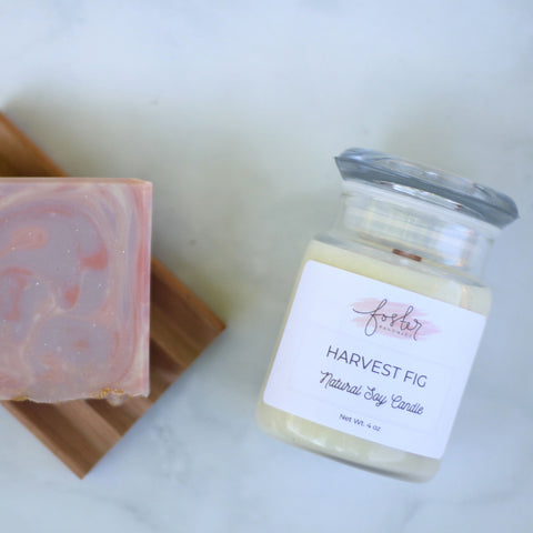 Harvest Fig Soy Candle