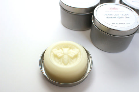 Lumberjack Beeswax Lotion Bar