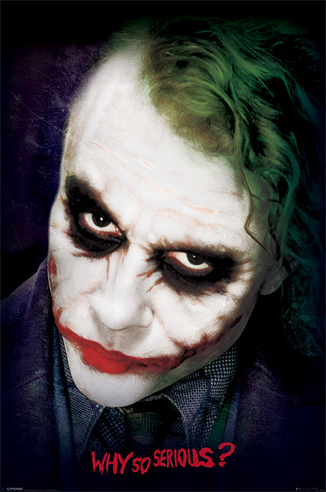 The Dark Knight Joker Face