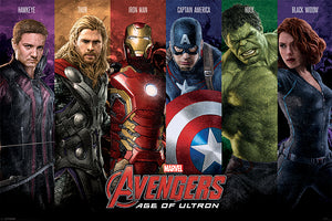 Avengers Age Of Ultron Team