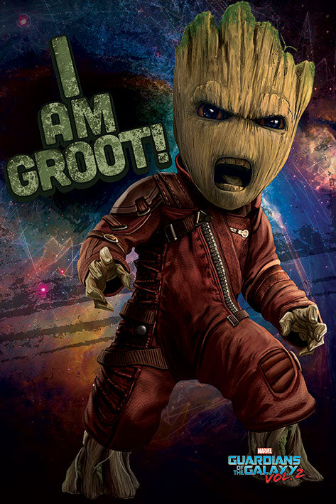 Guardians of the galaxy Angry Groot