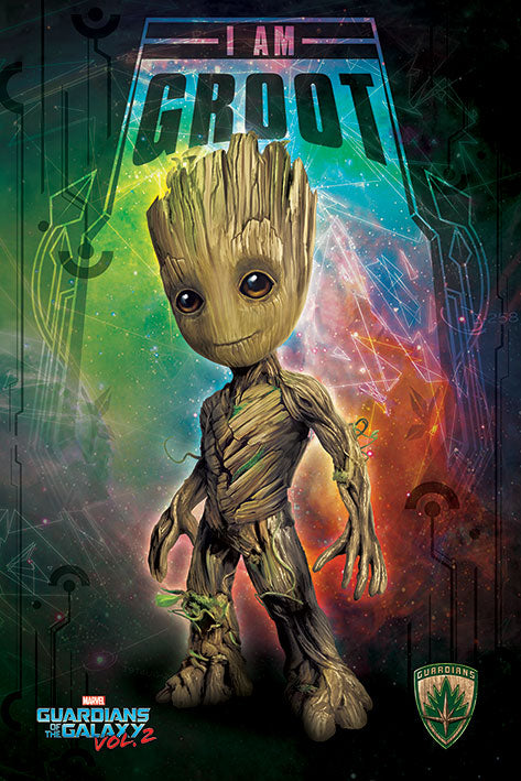 Guardians of the galaxy I am Groot Space