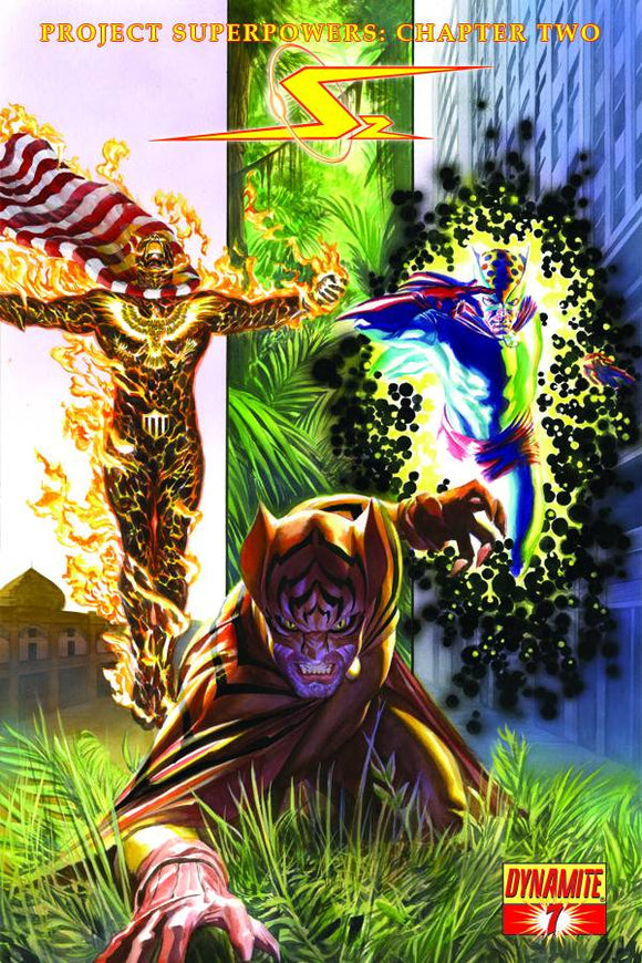 Project superpower: Burning eagle - Black owl - Man cat