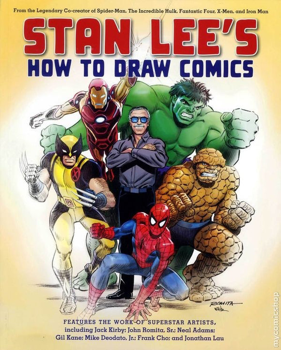 STAN LEE HOW TO DRAW COMICS SC (AUG101309)