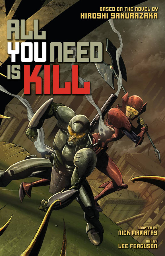 ALL YOU NEED IS KILL GN VOL 01 (MR) (C: 1-0-0)