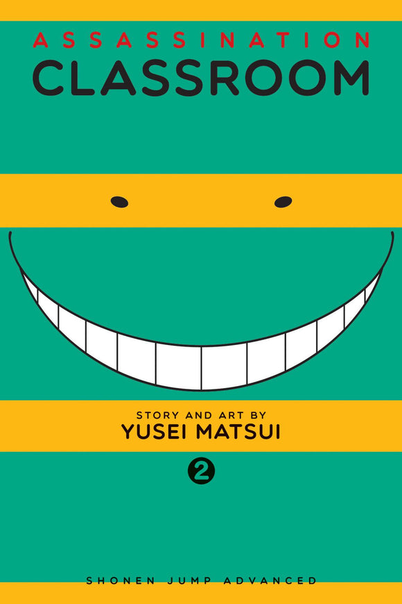 ASSASSINATION CLASSROOM GN VOL 02 (C: 1-0-1)