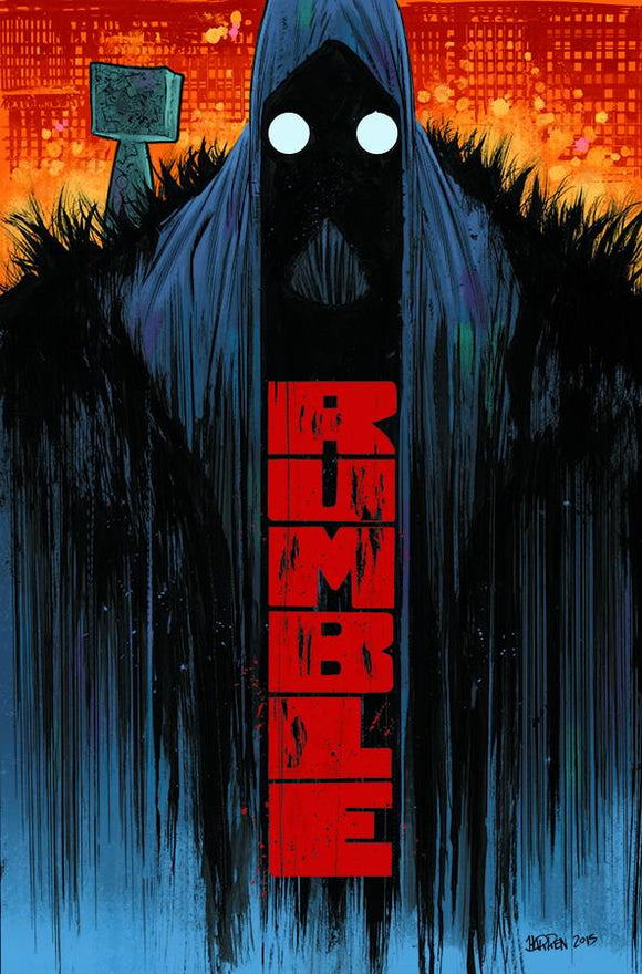RUMBLE TP VOL 01 WHAT COLOR OF DARKNESS (MR)