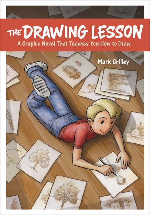 DRAWING LESSON GRAPHIC NOVEL TEACHES YOU HOW TO DRAW (MAY162060)