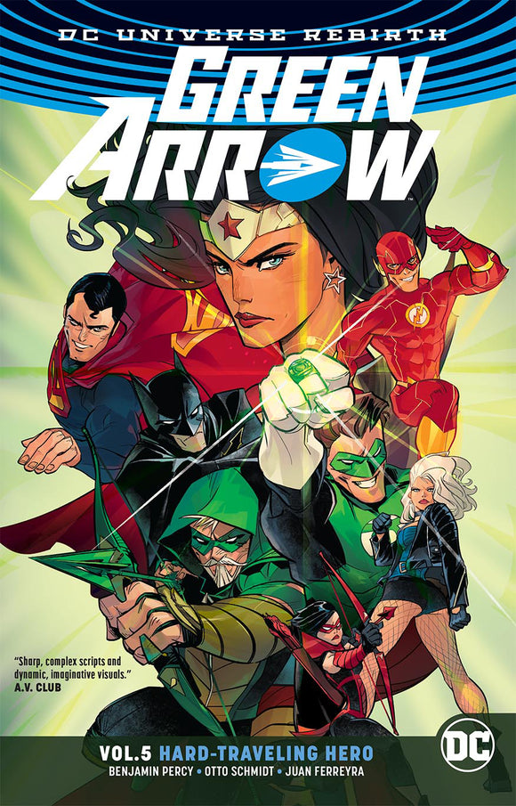 GREEN ARROW TP VOL 05 HARD TRAVELING HERO REBIRTH (FEB180285)