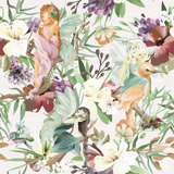 PRE- PURCHASE NOW OPEN -'Flower Fairies' 290GSM Minky per metre