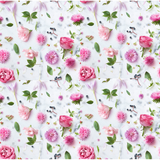 PRE- PURCHASE NOW OPEN -'Pretty in Pink' 290GSM Minky per metre