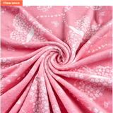 MINKY FABRIC - Flowerfly in Pink Print by Shannon Fabrics