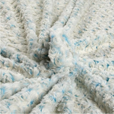 Luxe Cuddle® Blue Ice Frosted Swirl by Shannon Fabrics
