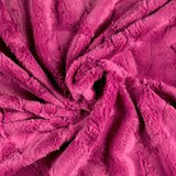 MINKY - Luxe Cuddle® Hide Carnation by Shannon Fabrics