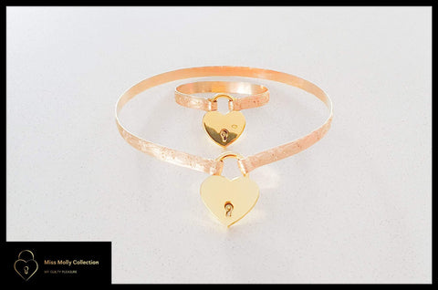 Gold Day Collar & Cuff Combination