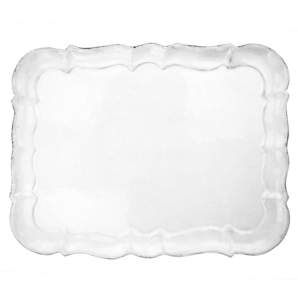 Apolline plate-Flat plate (29x22x0,5cm)-Handmade in France by CARRON