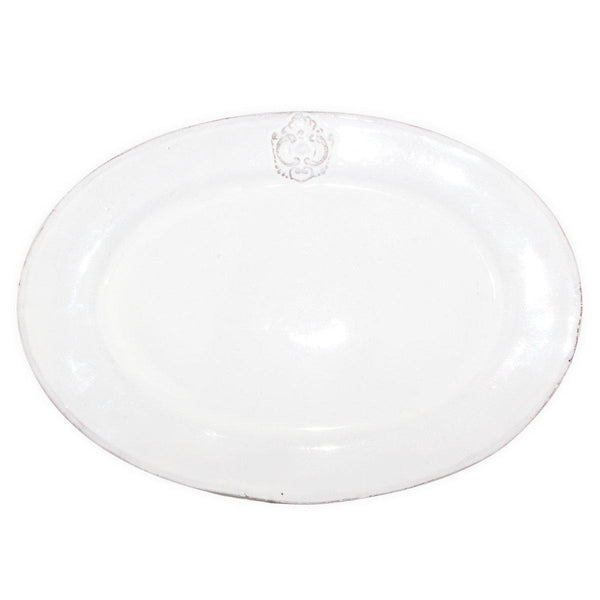 Charles oval platter-L (33x23,5x2cm)-Handmade in France by CARRON