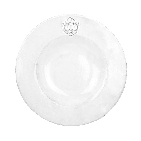 Charles plate-Shallow plate L ⌀26-Handmade in France by CARRON