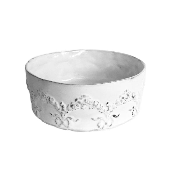 Couronne floral serving bowl