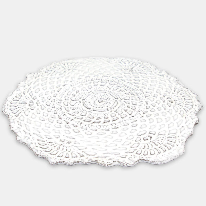Dentelle bottle coaster-19x19x0,3cm-Handmade in France by CARRON