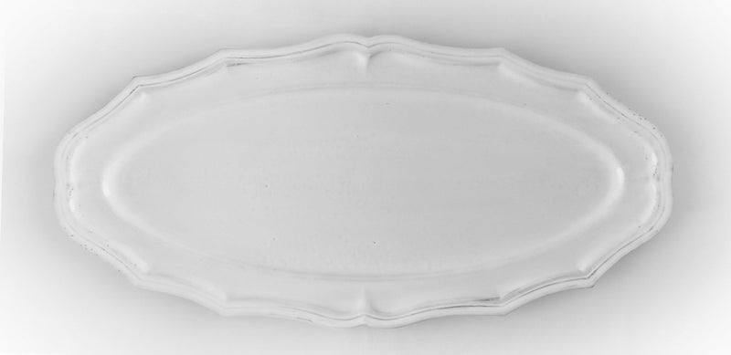 Fish platter Louis XV-58x58x2cm-Handmade in France by CARRON
