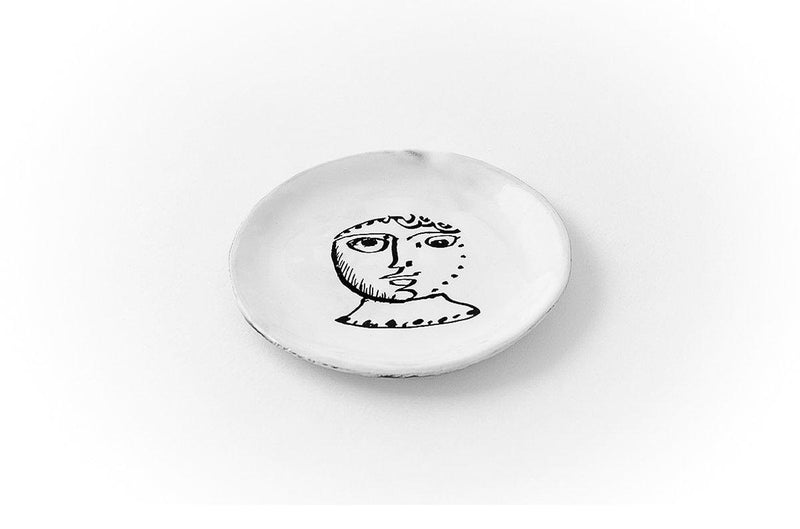 Le col plate-Handmade in France by CARRON