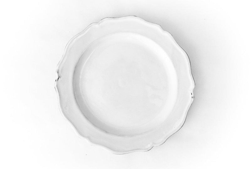 Louis XV plate-Dessert plate ⌀23 H1-Handmade in France by CARRON
