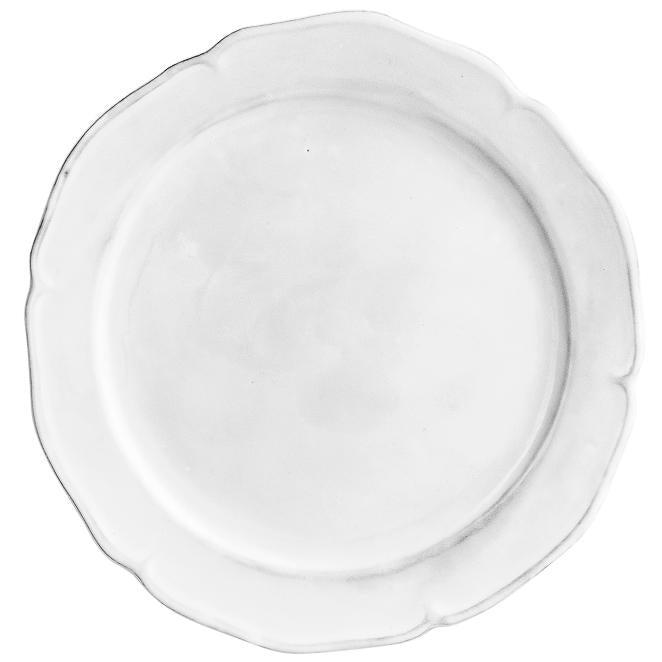 Louis XV plate-Flat plate ⌀27 H1-Handmade in France by CARRON