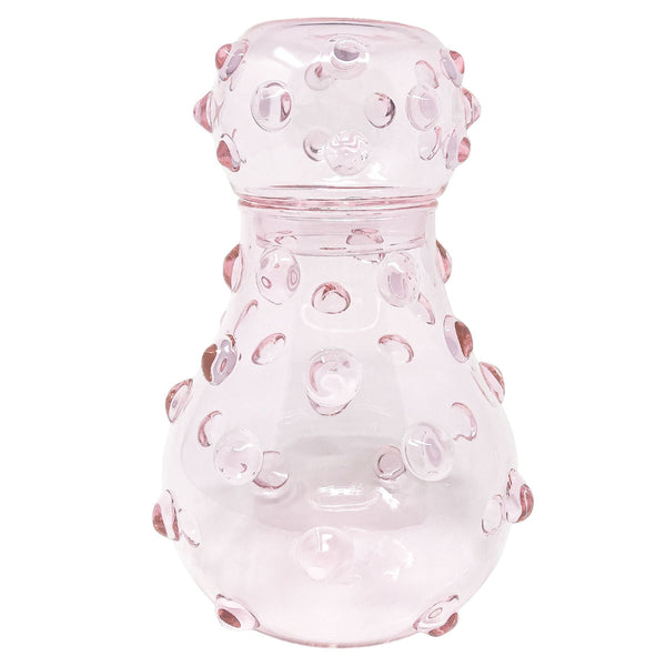 Mademoiselle Carafe & Glass Pink