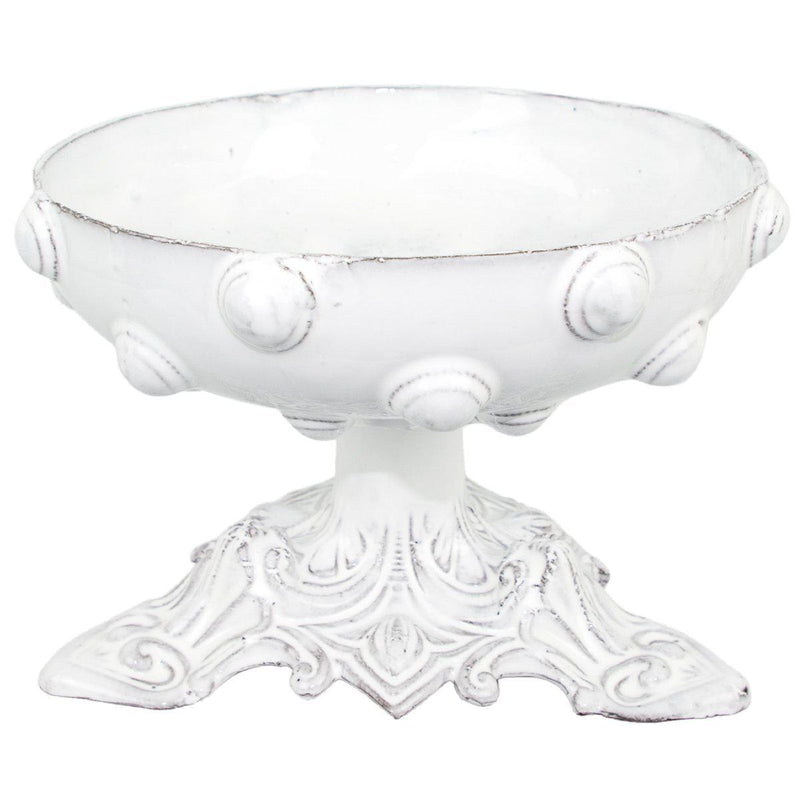 Mademoiselle footed bowl-20x20x15cm-Handmade in France by CARRON