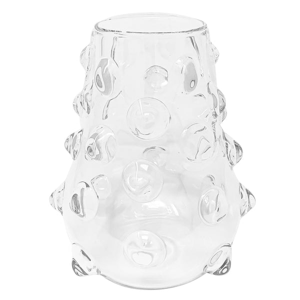 Mademoiselle glass vase-M (⌀20 H23cm)-CARRON-Paris