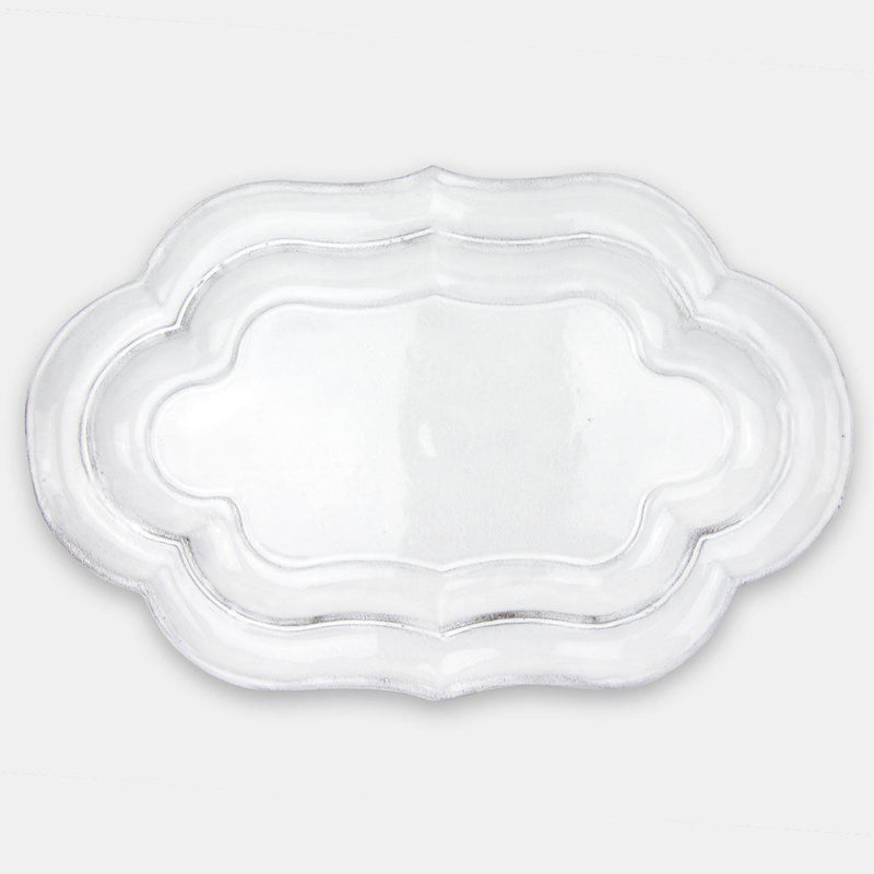 Mademoiselle platter-Shallow (39x25x3,3cm)-Handmade in France by CARRON
