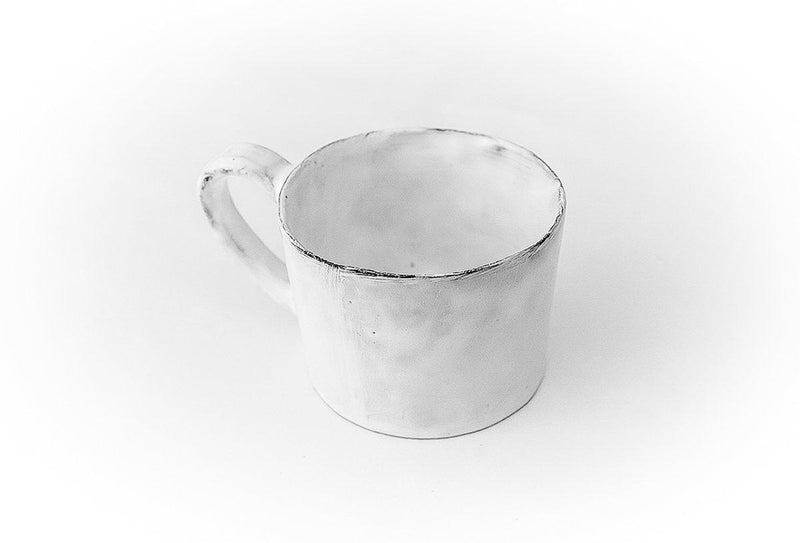 Marie-Antoinette knot cup with handle-11x11x9,5cm-Handmade in France by CARRON