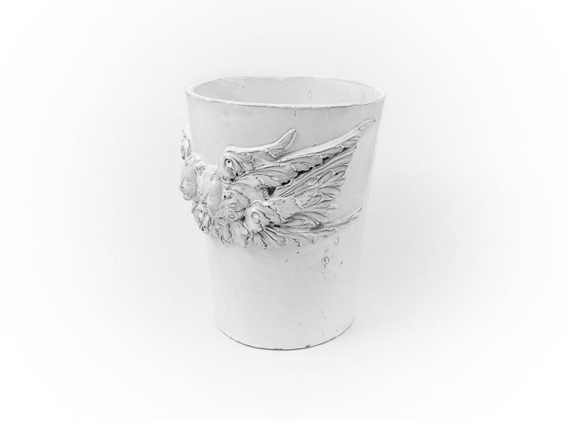 Mon Ange large vase-21x21x27cm-Handmade in France by CARRON